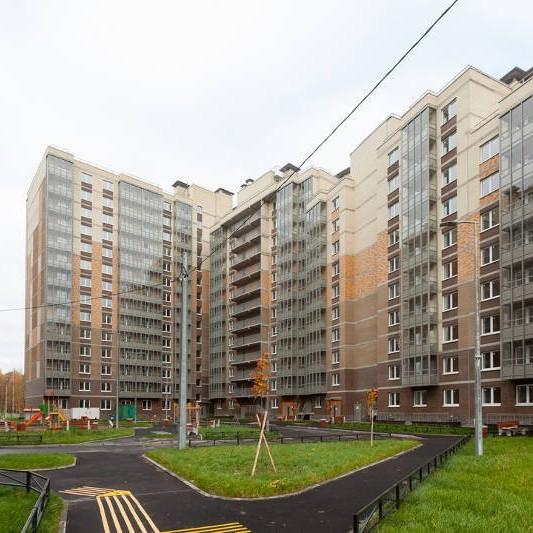 ЖК Юнтолово, ход строительства октябрь 2017