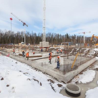 ЖК Юнтолово, ход строительства март