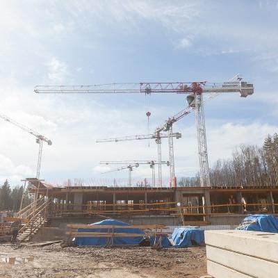 ЖК Юнтолово, ход строительства апрель 2018