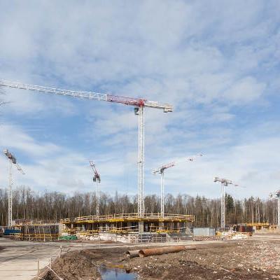 ЖК Юнтолово, ход строительства апрель